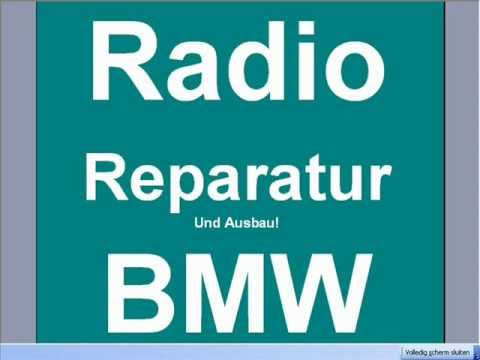 BMW Radio modul BM24 Steuergeraet Reparatur ausbau E38 E39 530D 523i ...