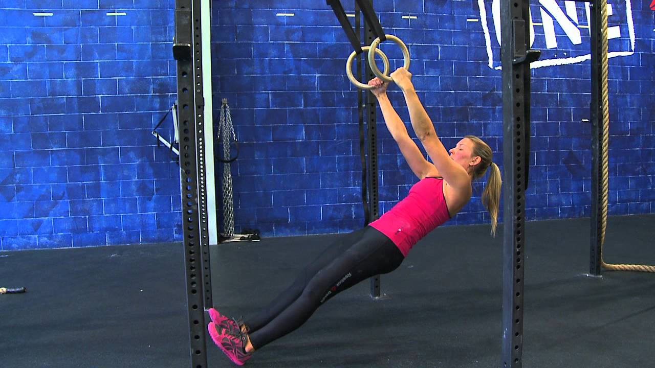Image result for CrossFit Ring Row Hold