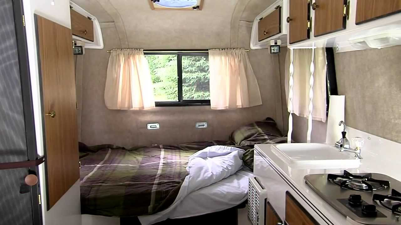 Lightweight Small Travel Trailers Scamp YouTube