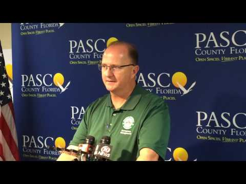 09.05.2016 Pasco County Emergency Services Director Kevin Guthrie