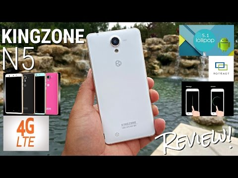 Kingzone N5 - $125 - Full Review - MTK6735 - 2GB/16GB - HotKnot - OS 5.1 - Metal - 13MP - 4G LTE