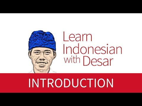 Formal and Informal Introduction -  Learn Indonesian with Desar