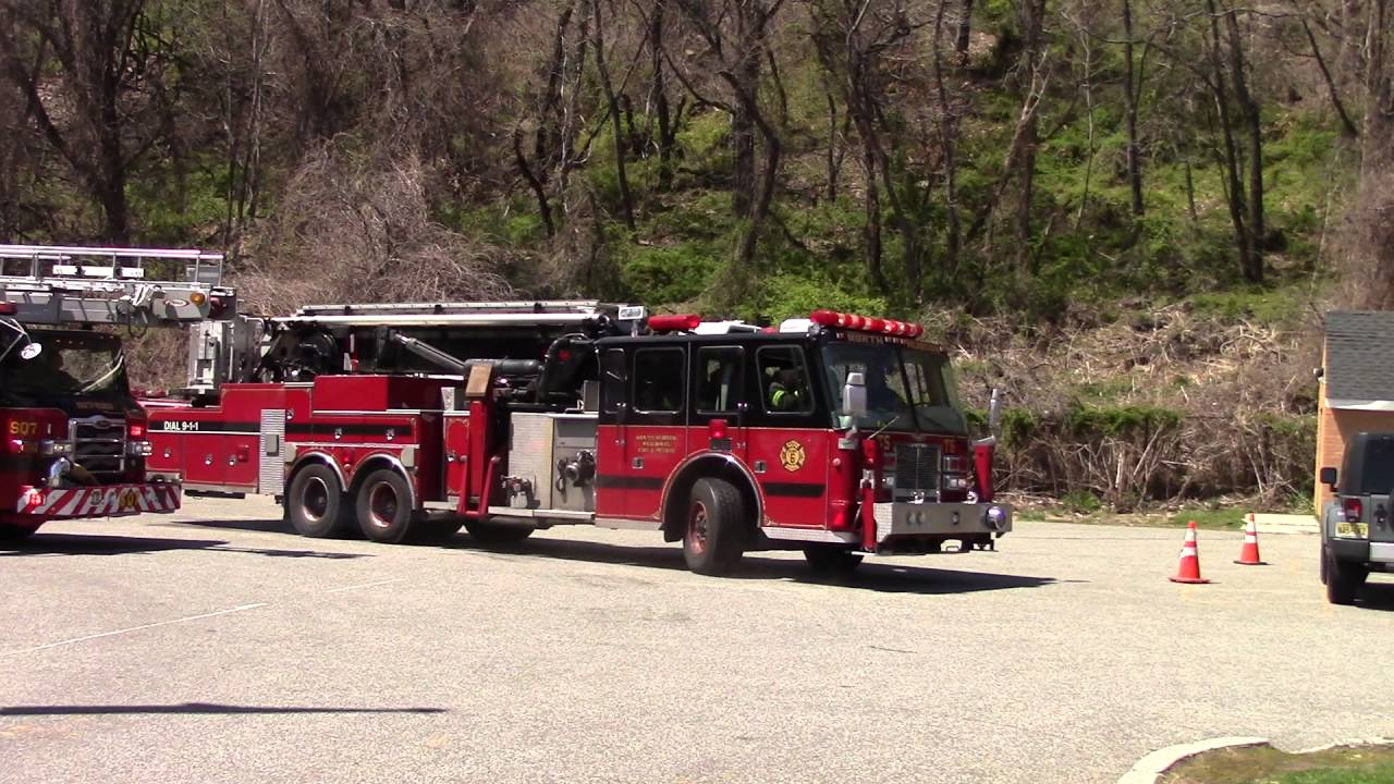 5493f6fd643 North Hudson Regional Fire   Rescue Spare Tower Ladder 6 And Squad 7 ...