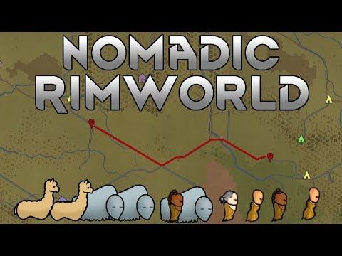[24] Raiding With Turrets | Nomadic Rimworld A17