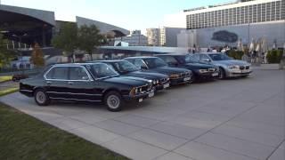 BMW 7 Series E23 F01 1977 2015
