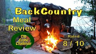 Lasagna With Meat Sauce - Mountain House - Backcountry Meal Review