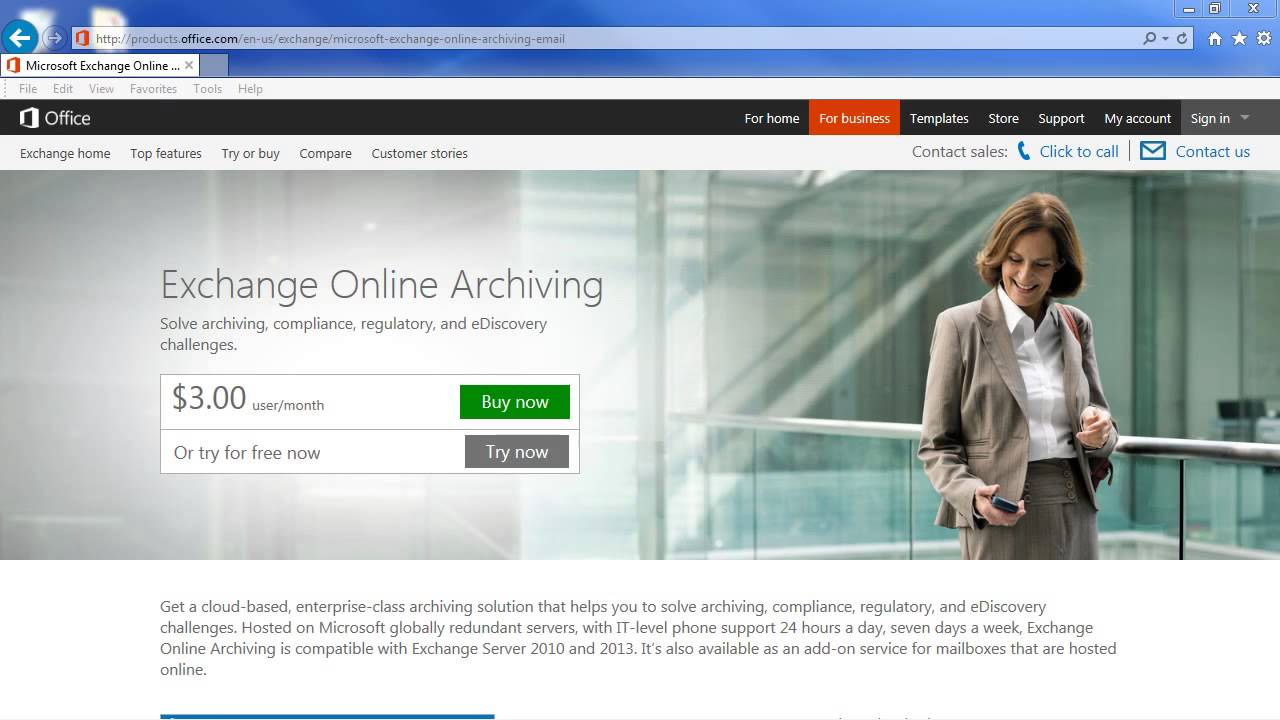 Learn Microsoft Exchange : How to Use Online Archive - YouTube