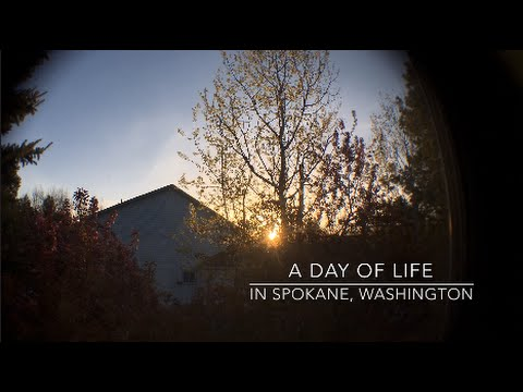 🌤A Day of Life in Spokane, Washington🏔