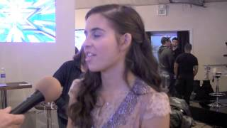 Carly Rose Sonenclar (X Factor) - Post Show Interview 11-14-12