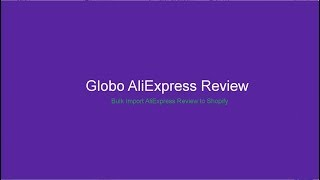 import aliexpress reviews to shopify