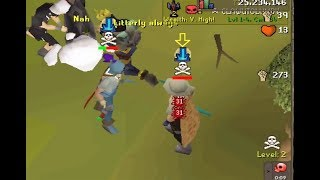 from 50-60 attack /osrs rune pure pking with commentary / anchor dds heavy ballista