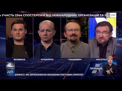 Програма  ПІДСУМКИ Євгена Кисельова від 26  березня 2019 року