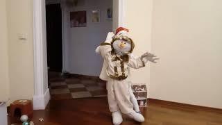 Танец снеговика детский