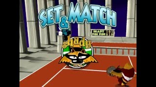 Tennis Titans Gameplay (PC) Final Battle Poh Poh vs Shady