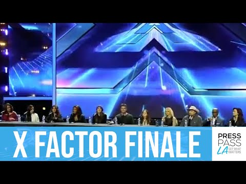 X Factor Finale, Full Press Conference