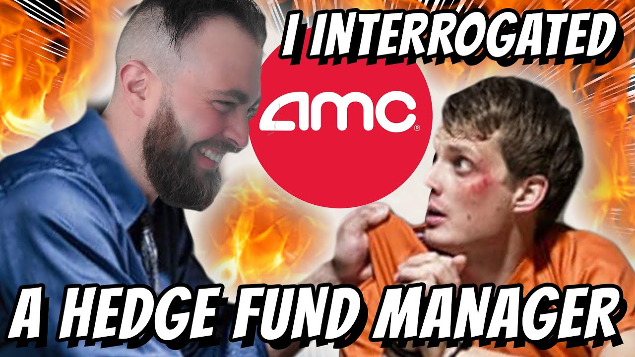 AMC Ape TRICKS 2 Hedge Fund Managers Into Telling the TRUTH About AMC Stock, Kenny, and Dark Pools.