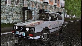 City Car Driving 1.5.5 - Volkswagen Golf II MK2 1.6D   Humid Drive   + Download [LINK]   1080p & G27