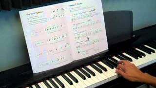 Piano Tutorial - Familiar 6/8 Melodies - Level 3A - Lesson