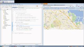 CodeIgniter Google Maps API Library - Getting Started