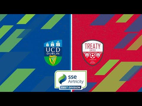 First Division GW26: UCD 2-1 Treaty United
