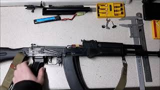 [Обзор] Страйкбольный привод АК-74М из ММГ, Установка шестерней 13:1 в гирбокс Т2 от Real Sword