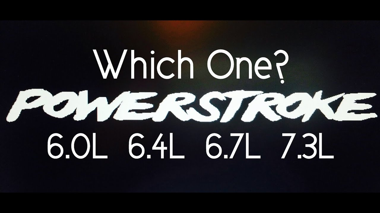 which ford diesel motor is the best? powerstroke shootout best ford diesel engine Firing Order Diagram 05 Ford 5 4
