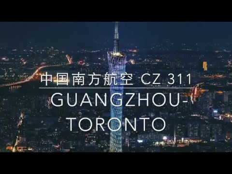 CZ311 Boeing 777-300 ER China Southern Guangzhou Toronto  Flight Review