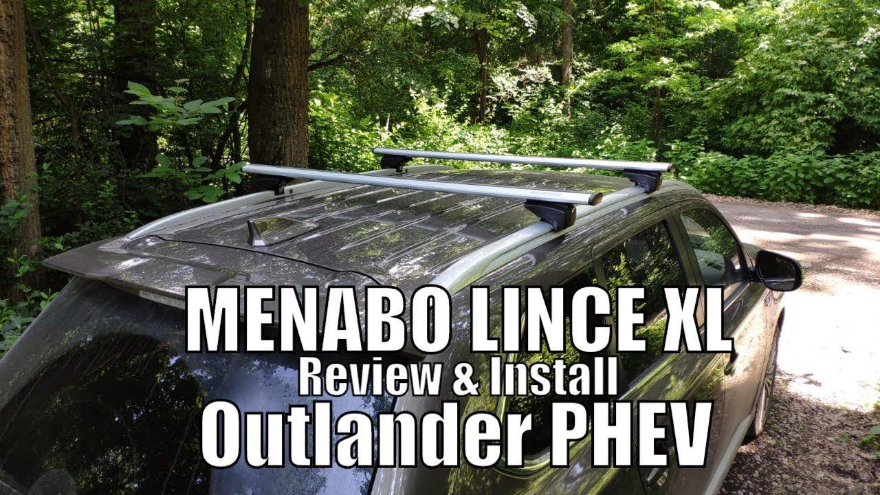 Dachträger Menabo Tema Mitsubishi Lancer Aluminium