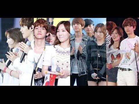 Taeyeon and baekhyun dating news