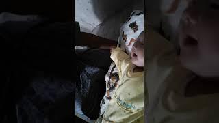 Funny baby 😁😁😂😂😂 (bayi lucu)