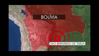 Um terremoto de magnitude 6,8 na escala Richter na Bolívia provocou tremores em São Paulo