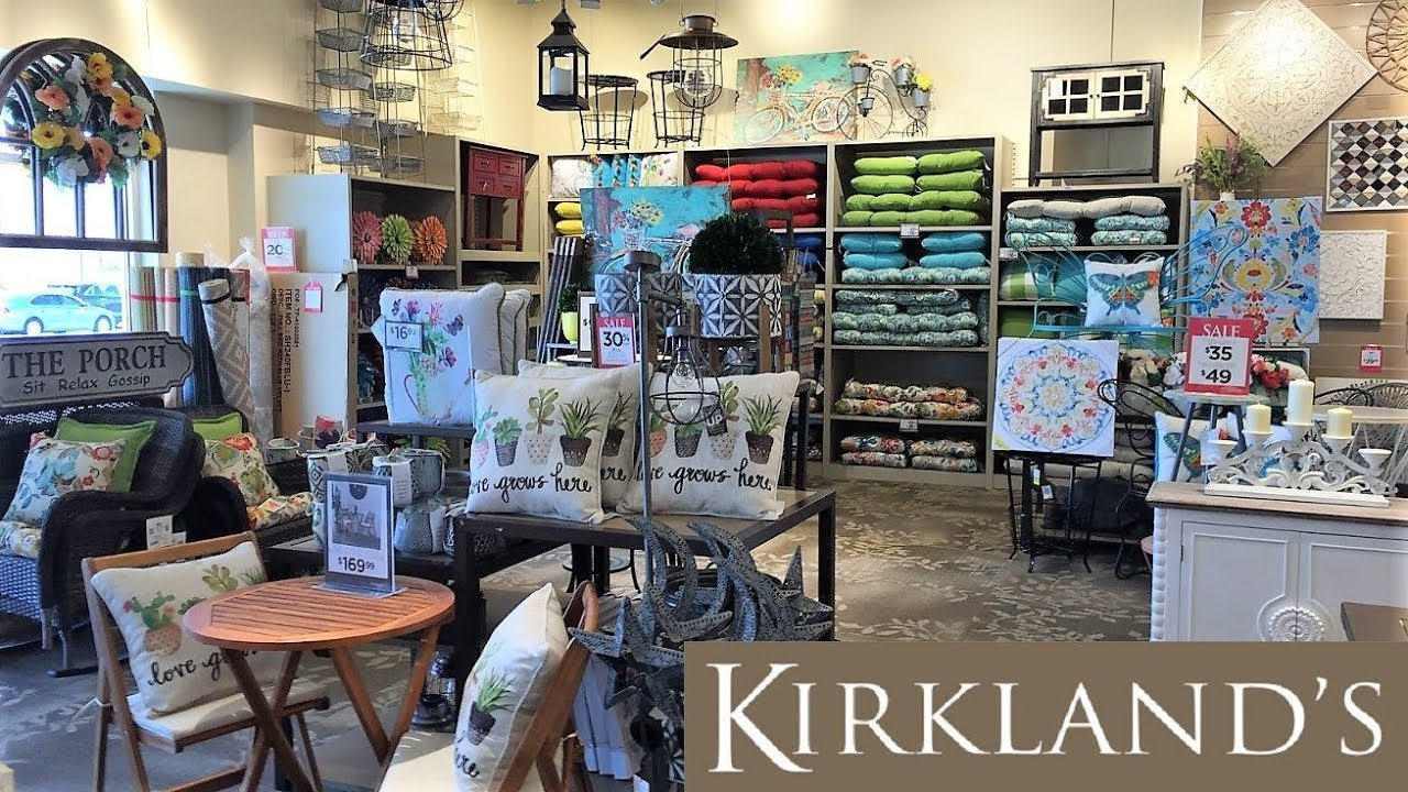 Kirkland S Spring Summer Home Decor Furniture Shop With Me Shopping