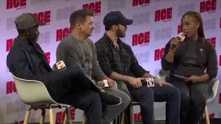 Chris Evans, Don Cheadle & Jeremy Renner at ACE Comic Con in Seattle (29/06/19)