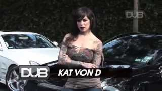 Kat Von D gets inked up in DUB Thumbnail