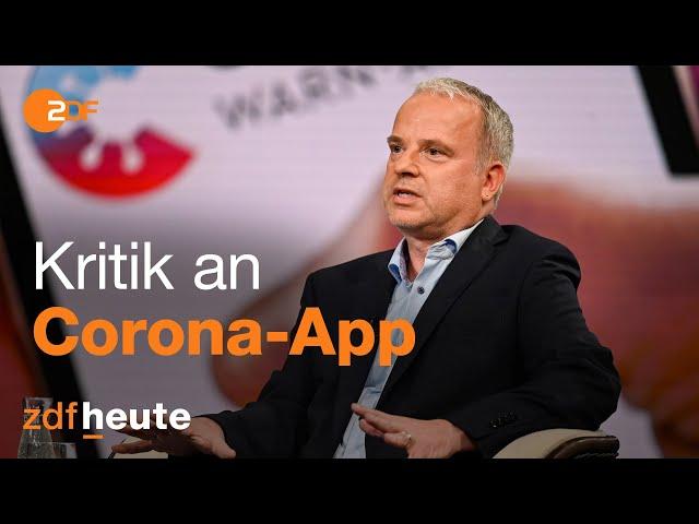 Virologe kritisiert Corona-App | Markus Lanz am 16.06.2020
