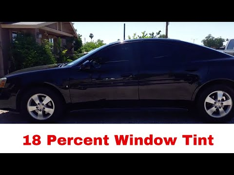 Car tint 18 percent youtube for 18 percent window tint