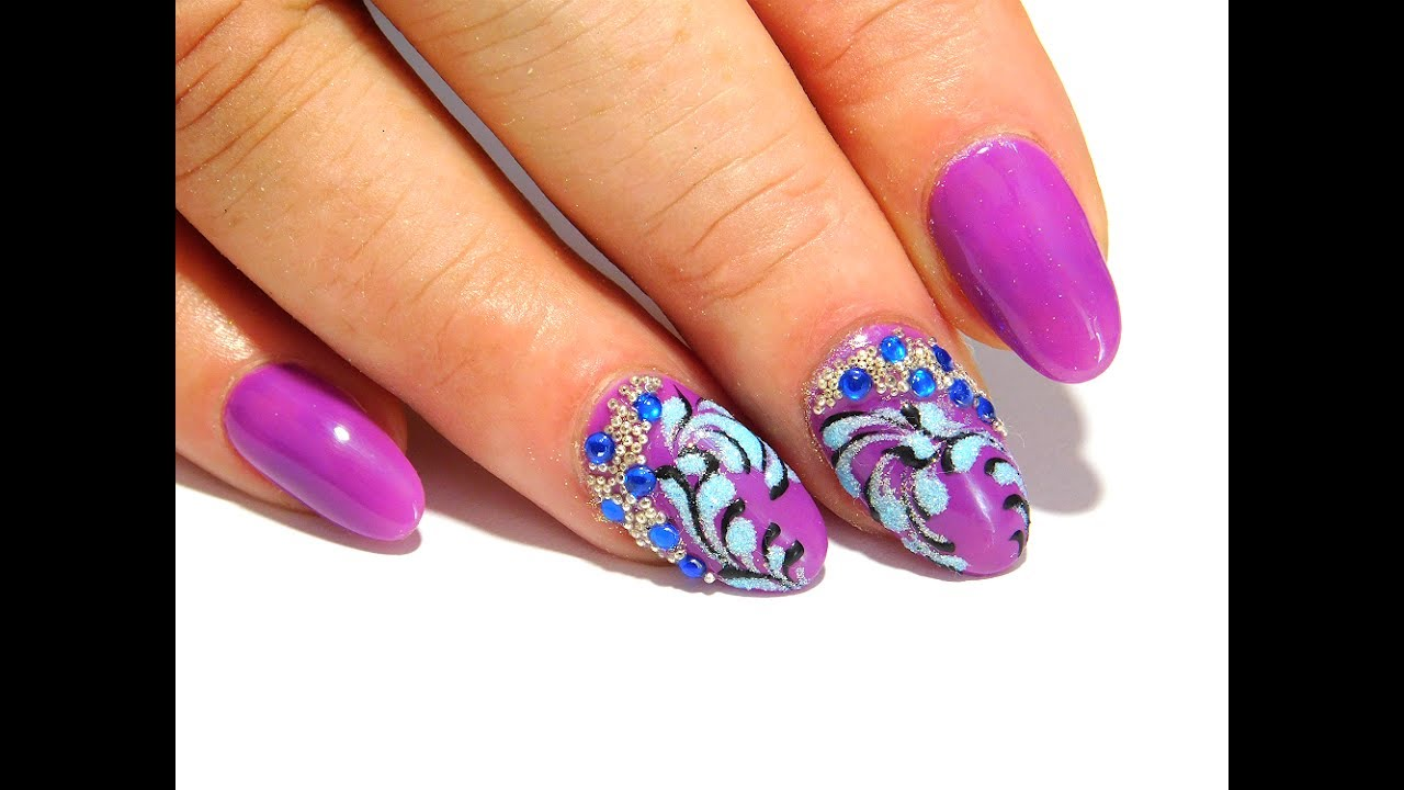 Very simple nail design New Nail Art 2017 The Best Nail
