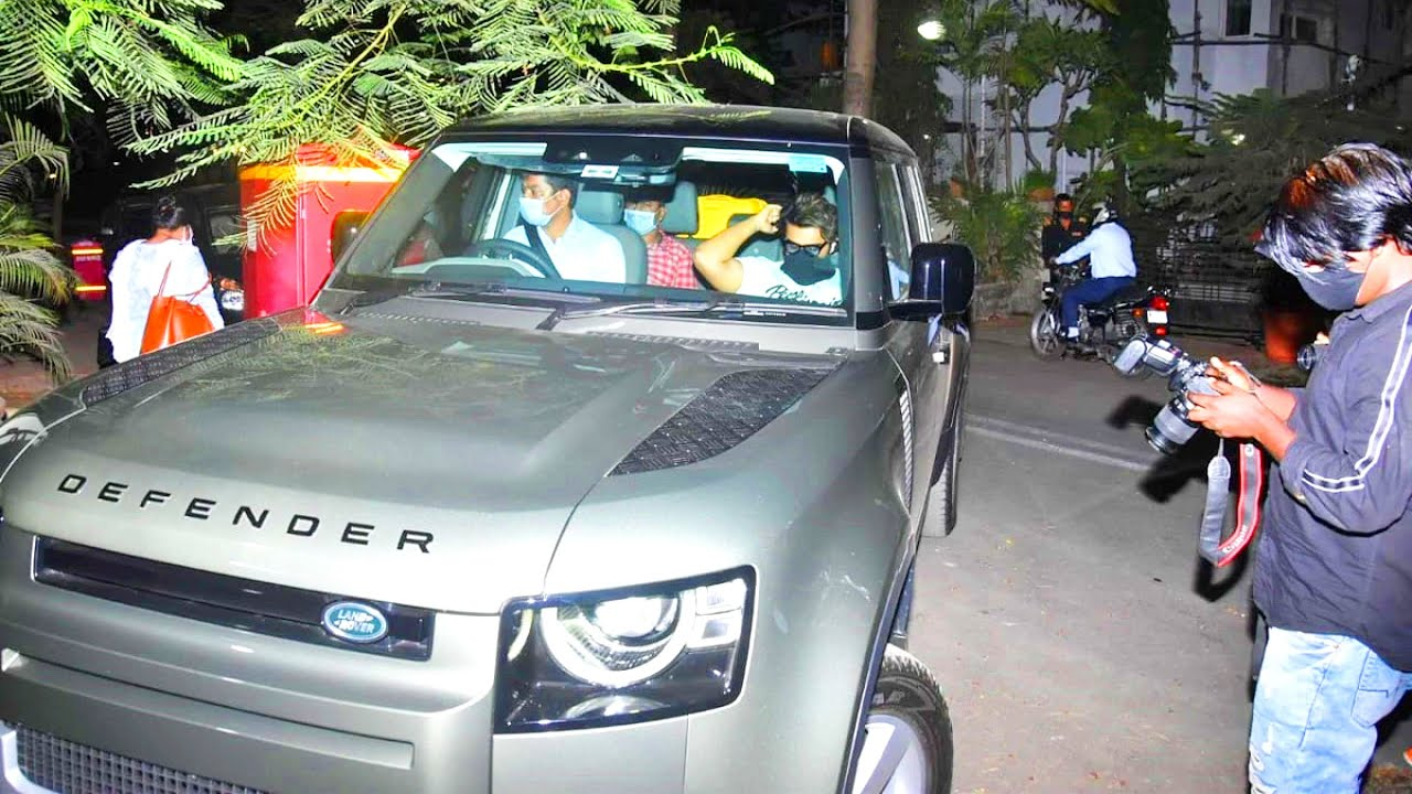 Arjun Kapoor New Car Collection - Land Rover Defender