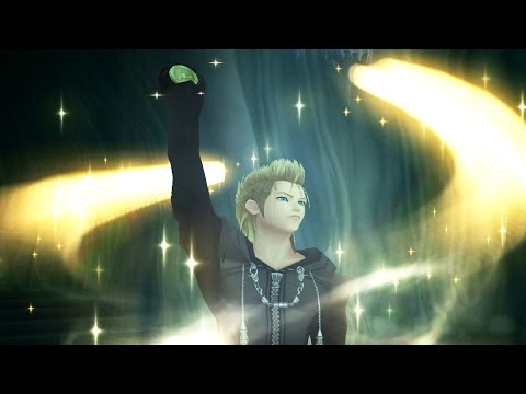 Kingdom Hearts 2: Demyx Water Form Boss Fight (PS3 1080p)