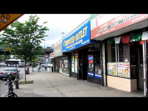 Street Scenes of the Bronx, New York City