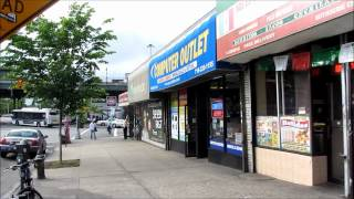 Street Scenes of the Bronx, New York City