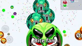 SOLO VS BITE ARMY - AGAR.IO MOBILE REVENGE