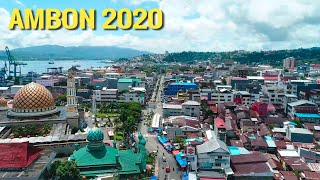 Download lagu Pesona Kota Ambon Maluku 2020 - Drone View Ambon City
