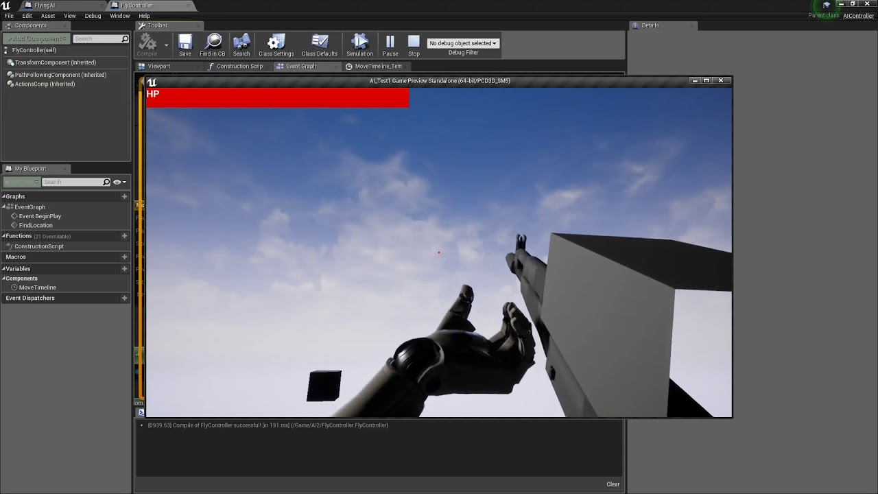Ue4 tutorial flying ai study youtube ue4 tutorial flying ai study malvernweather Gallery