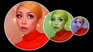 Makeup 60's Twiggy ツイッギー 検索動画 8