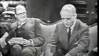 """Vladimir Nabokov discusses """"Lolita"""" part 1 of 2"""