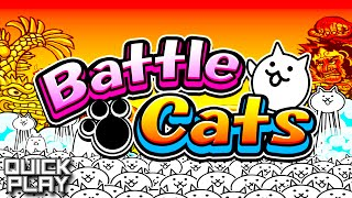 The Battle Cats - Gameplay of a Tower Defense with Weirdly Cute Cats and Sexy Legs! (Quick Play)