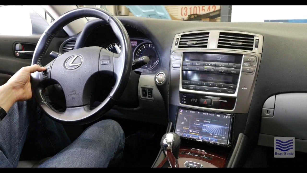 Beat-Sonic SLX-140L Lexus IS 250 & IS 350 Double DIN Kit