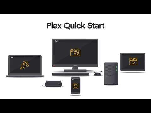 Plex Media Server: Quick Start here!