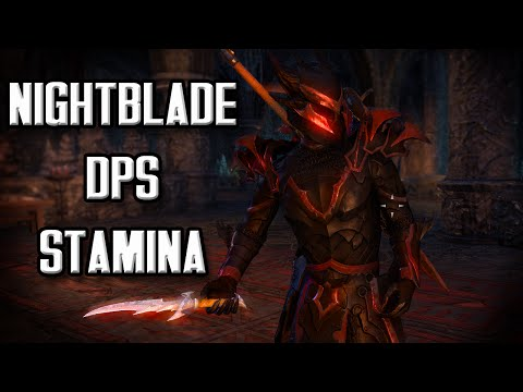 The Brutal Smorgasbord Assassin - PVE Stamina Nightblade DPS Build (Elder Scrolls Online DPS Build)